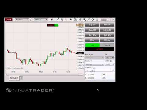 NinjaTrader 8 – Trade Controls Overview