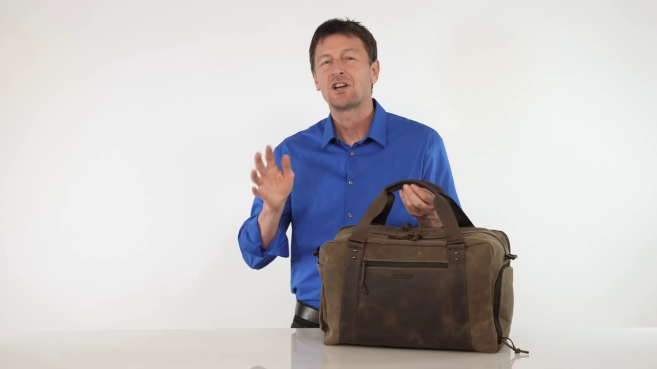 d89b180c56 Atlas Executive Athletic Holdall — by WaterField Designs - YouTube