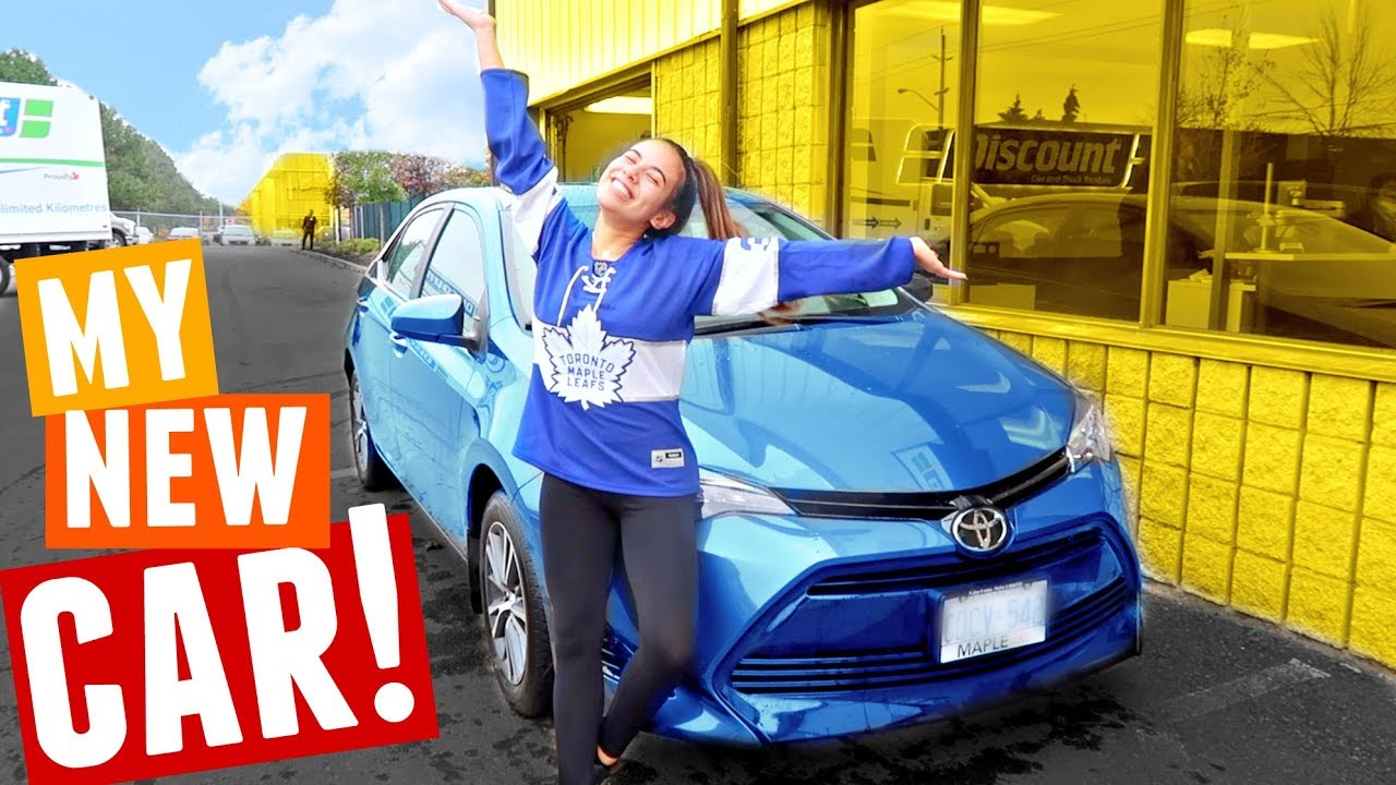 My New Car: MY NEW CAR + CAR TOUR! Toyota Corolla 2017 (3rd Car After