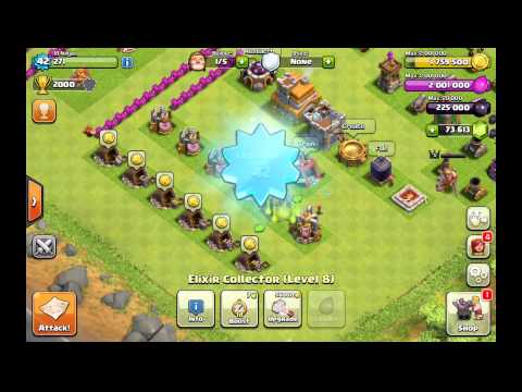Gemming To TH 8 140,000 Gems In Clash Of Clans By  CfomodzGaming