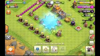 Gemming to TH 8 140,000 Gems!