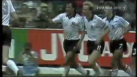 WM 1982 Vorrunde  Deutschland  Algerien 1:2