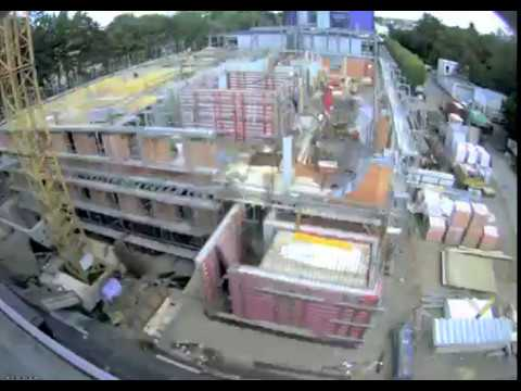 Construction of the Center for Systems Biology Dresden (CSBD)