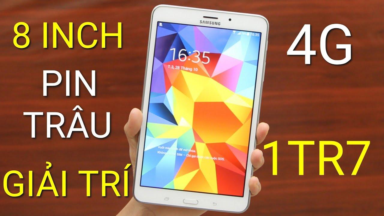 Đánh giá MTB Galaxy Tab 4 T337 giá 1TR7 mua Shopee: MÀN ĐẸP, PIN TRÂU, CÓ 4G, GIẢI TRÍ MÙA COVID!!!