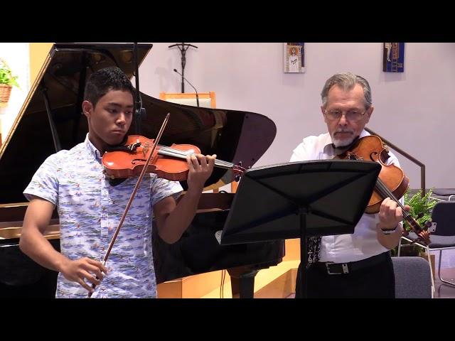 12 Haydn, Serenade