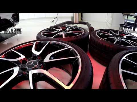 High End Car Detailing Mercedes Benz Estate AMG New Car Treatment with Modesta