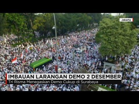 Sejumlah Kepala Daerah Himbau Warganya Tidak Ikut Demo 212 Di Jakarta