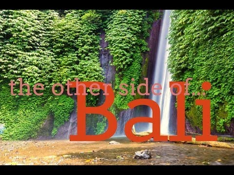 North Bali, Indonesia The Waterfalls and Lake Temple