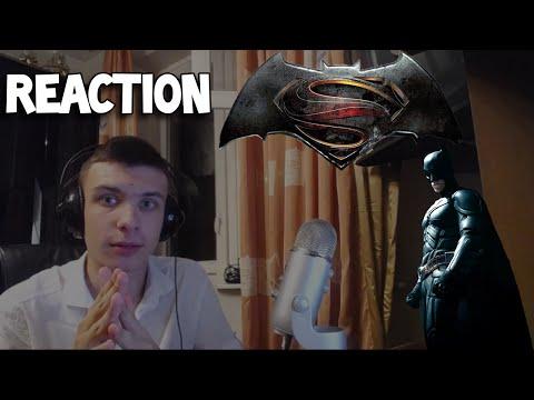 Reaction | Трейлер SDCC DC Batman v Superman/Бэтмен против Супермена
