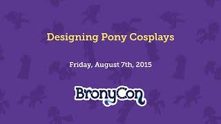 Designing Pony Cosplays