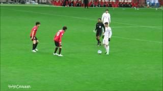 上海上港のオスカル(Oscar)選手の浦和レッズの選手達を個人技で圧倒するタッチ集