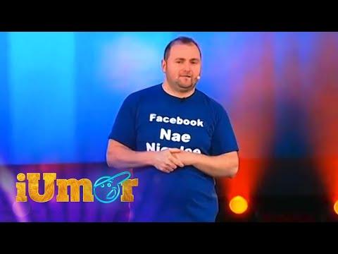 """Nae Nicolae, număr de senzaţie de stand up comedy: """"Vreau şi eu LIKE-uri"""". Îl putem ajuta?"""