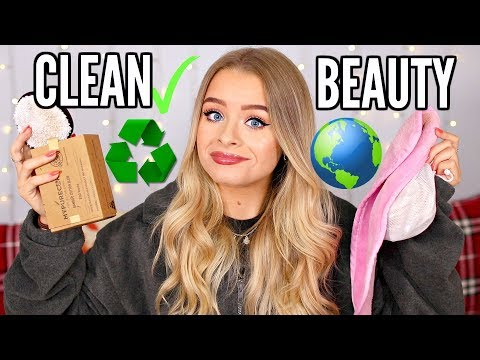 SUSTAINABLE BEAUTY- HOW TO REDUCE WASTE/PLASTIC, CLEAN BEAUTY PRODUCTS