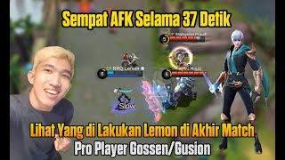 Download Video RRQ`Lemon ✿ Sempat AFK 37 Detik, Tapi Lihat Apa Yang Terjadi Selanjutnya - Pro Player Gusion Gossen MP3 3GP MP4