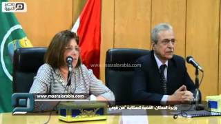 بالفيديو|وزيرة السكان: الصحة الإنجابية وتنظيم الأسرة أهم أولوياتي
