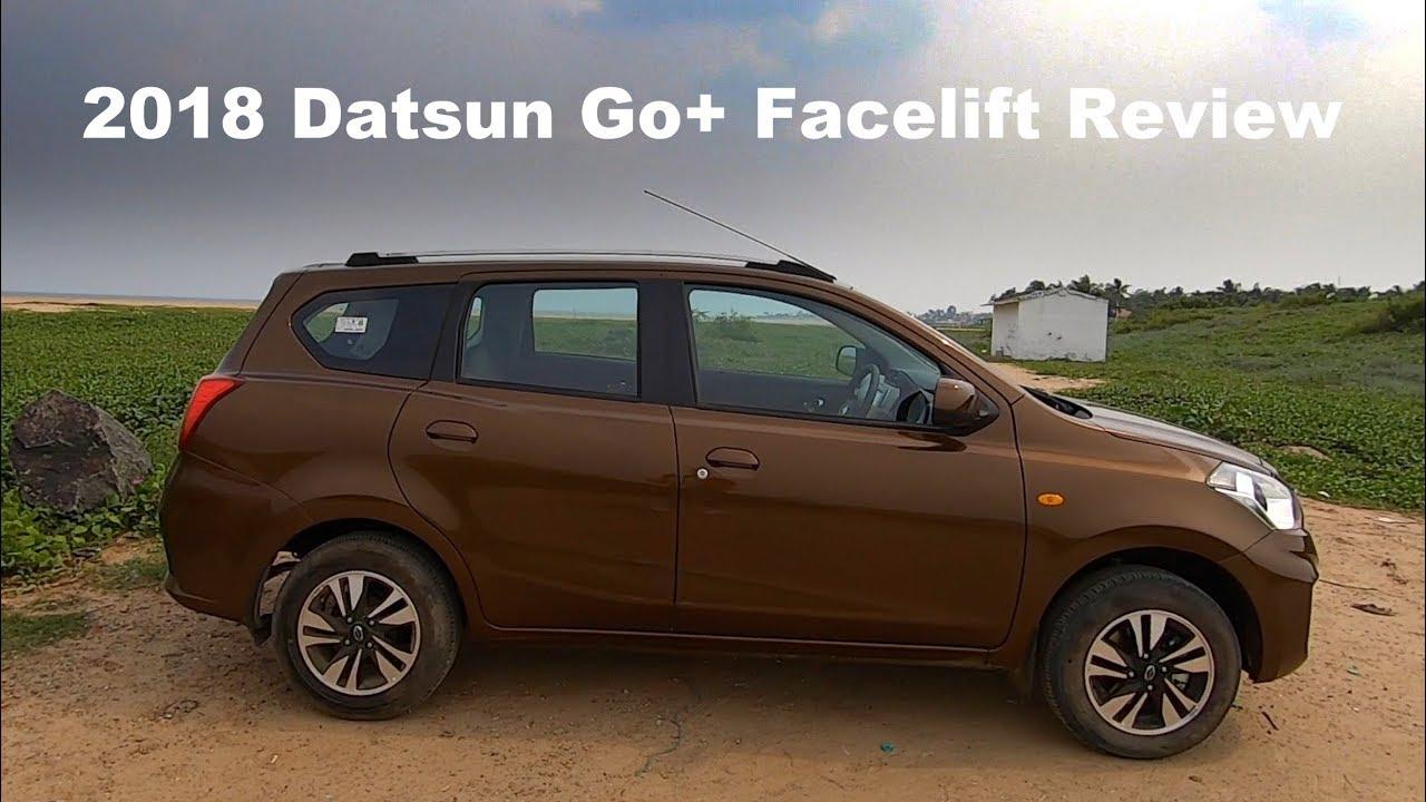 2018 Datsun Go 7 Seater Review Hindi English Youtube