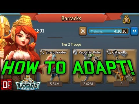 Lets Talk How To TRAP And ANTI-TRAPPING In 2019! - Lords Mobile