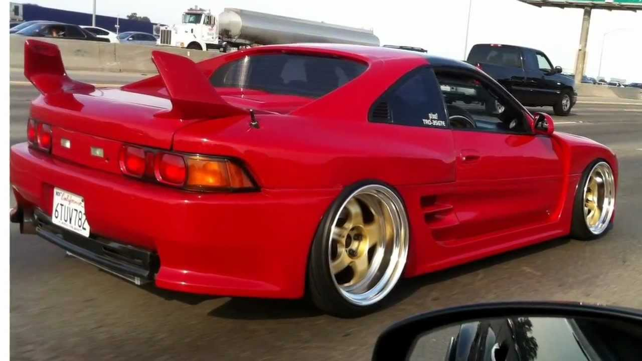 93 MR2 Turbo TRD 2000GT Widebody on Work Meister S1  Rolling