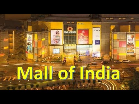 LARGEST SHOPPING MALL OF INDIA | DLF MALL OF INDIA