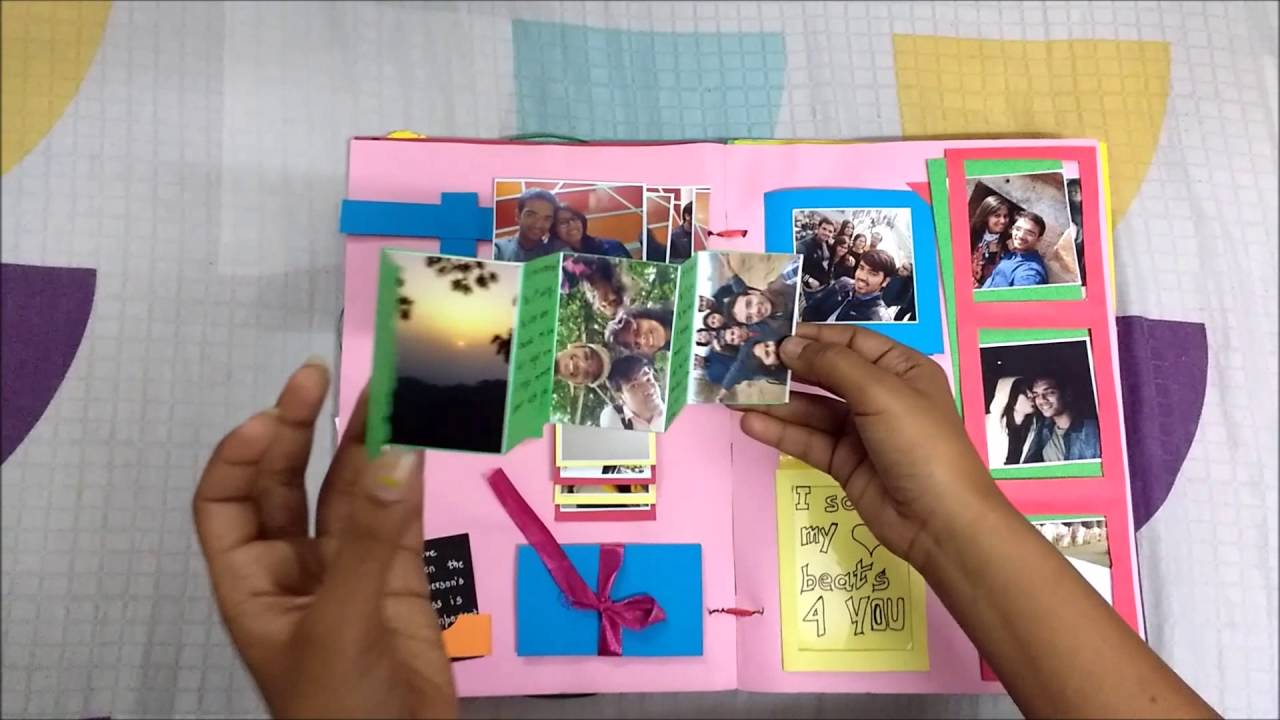 How to make scrapbook creative - How To Make Handmade Valentines Day Endless Creative Card Scrapbook