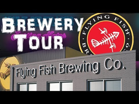 Brewery Tour - Flying Fish Brewery