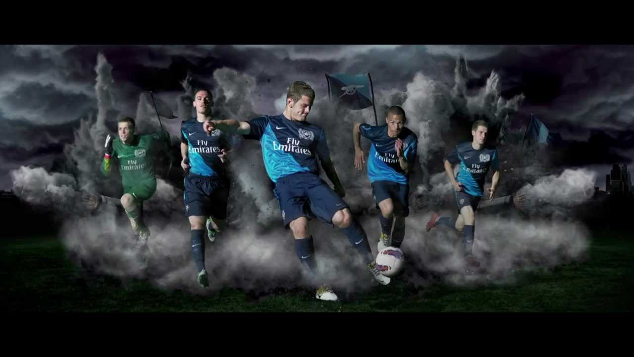 735668ec7eb New Arsenal FC Away Kit 2011 2012 - YouTube