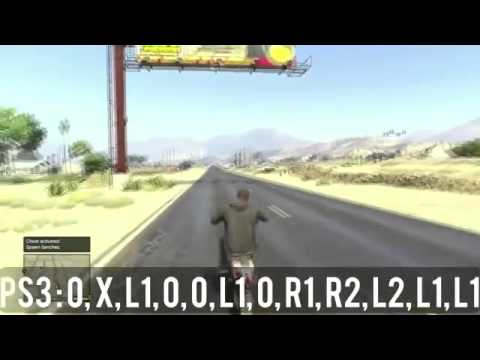 gta 5 dirt bike cheat