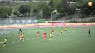Fútbol 7 Bravo.  Tercera División GX Jornada 40.  CMD San Juan 3 -  1 Conil CF