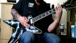 Pantera - Domination guitar cover - by ( Kenny Giron ) kG
