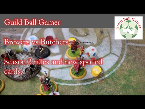 Guild Ball Gamer Episode 1 New Brewers vs New Butchers