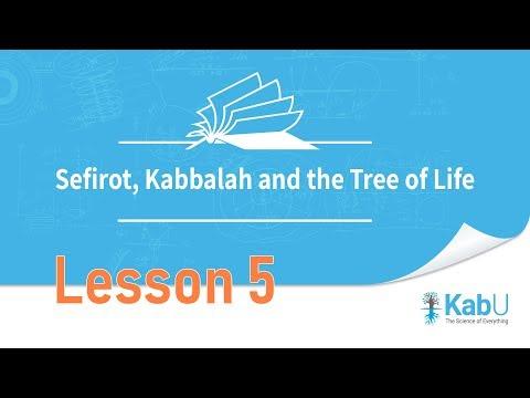 Sefirot, Kabbalah and The Tree of Life  Lesson 5