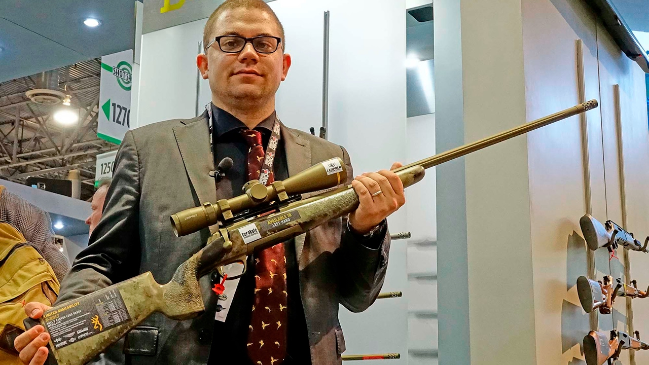 Browning X-Bolt Long Range Mcmillan rifle - YouTube