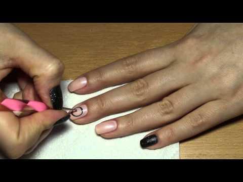 Картинки черные ногти