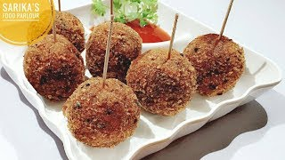 Potato Lollipop Recipe   Aloo Snacks   Crispy Potato Balls   Evening Snacks   Kids Favourite Snacks