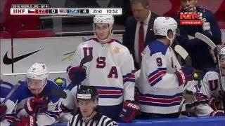 МЧМ  ¼ финала по хоккею 2016 США - Чехия . (Голы )