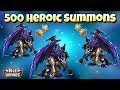 Idle Heroes (O) - 500 Heroic Summons! More Horus Action?!?