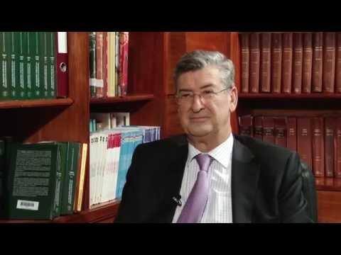 Noticiero Judicial: Entrevista al magistrado Manuel Garzón, del Tribunal Supremo de España