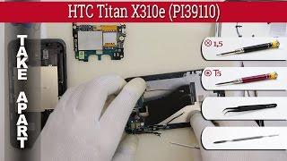 How to disassemble 📱 HTC Titan X310e PI39110 Take apart Разборка и ремонт