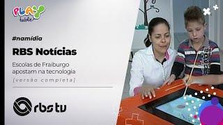 RBS TV - Jornal do Almoço - Escolas de Fraiburgo apostam na tecnologia