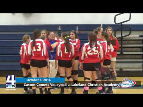 VB Caston vs Lakeland Christian Academy 10 6 16