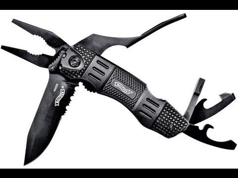 WALTHER MULTI TAC - KNIFE PRESENTATION