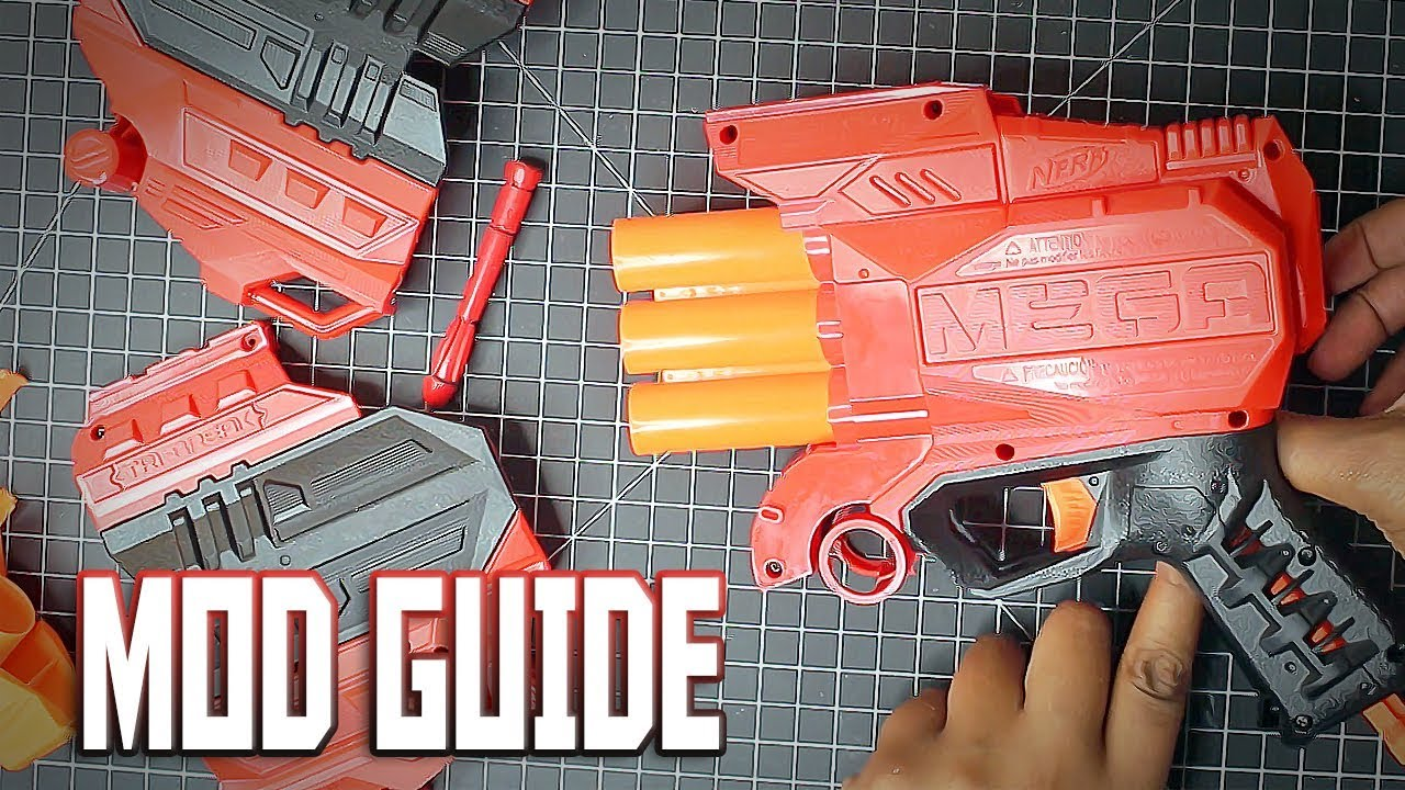 [MOD] Fixing the Nerf Mega Tri-Break!   Full Review and Mod Guide