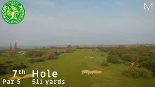 Orsett Golf Club 7th Hole Flyover