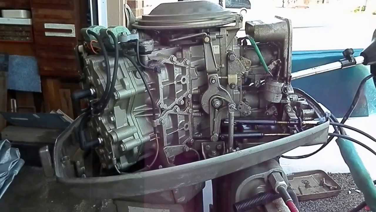1975 85 hp Evinrude idlerunning issues with videos Page