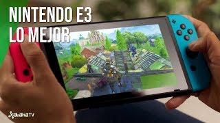 Lo mejor de Nintendo en E3 2018: Fornite llega a Switch, Super Smash Bros Ultimate y mucho más