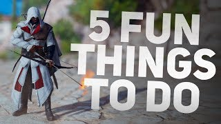 5 Fun Things to do in Assassin's Creed Origins