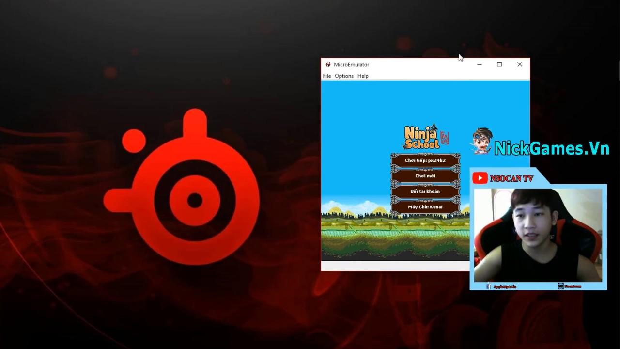 ►Ninja School Online | Hướng Dẫn Tải Giả Lập Và Bản Hack Ninja Trên PC