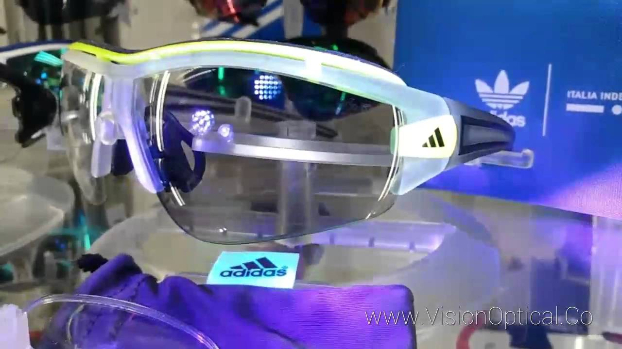 9623e1b337 Adidas Vario evil eye sunglasses change color testing - YouTube