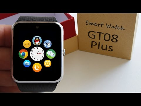 GT08 Plus (QW08) Android 4.4 Smartwatch 3G | Dualcore | WiFi | BT-4.0 🔍REVIEW