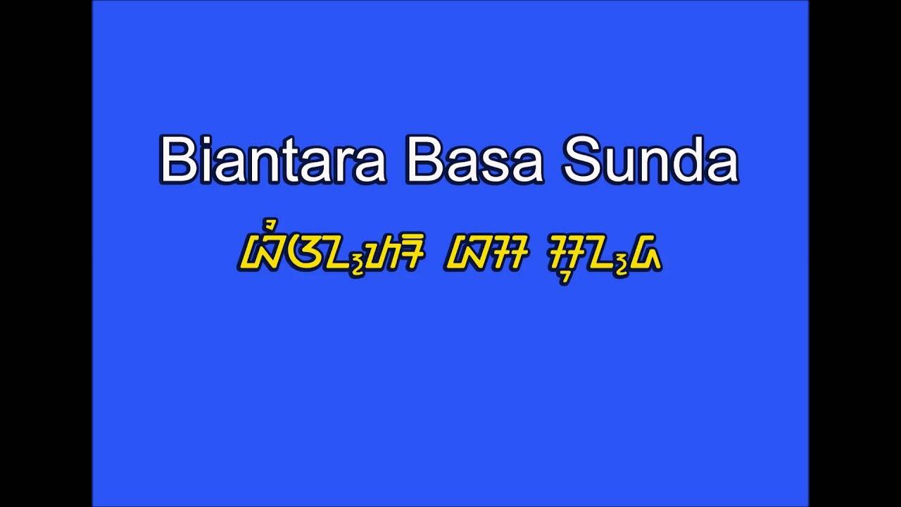 Biantara Basa Sunda Pidato Bahasa Sunda Youtube